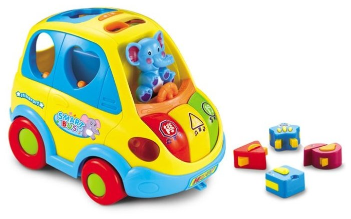 Сортер Huile Plastic Toys Автобус