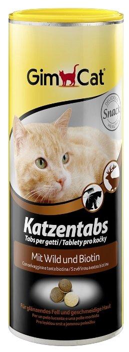 GimPet Katzentabs с дичью