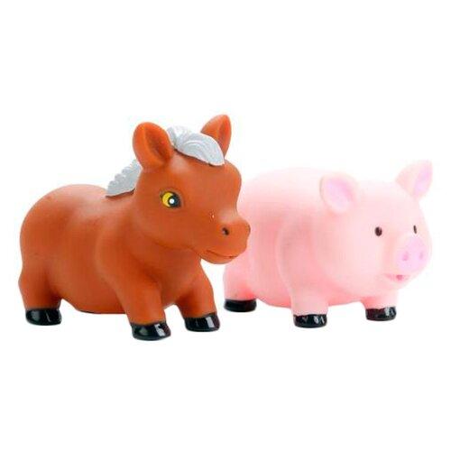 Купить Набор для ванной Играем вместе Конь и хрюша (LXB104_106), Игрушки для ванной