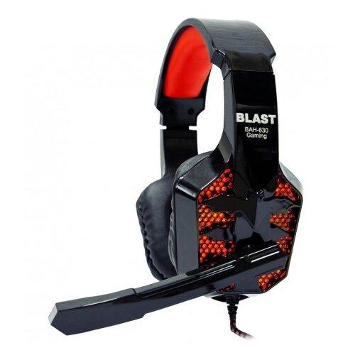 Компьютерная гарнитура BLAST BAH-630 blackКомпьютерные гарнитуры<br>