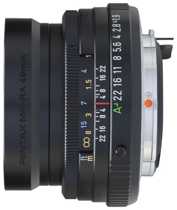 Объектив Pentax SMC FA 43mm f/1.9 Limited