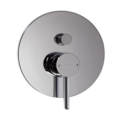 Смеситель для ванны с подключением душа Omnires Y Y1235 однорычажный встраиваемый хром смеситель для ванны с подключением душа omnires fresh fr7136 однорычажный с термостатом встраиваемый хром