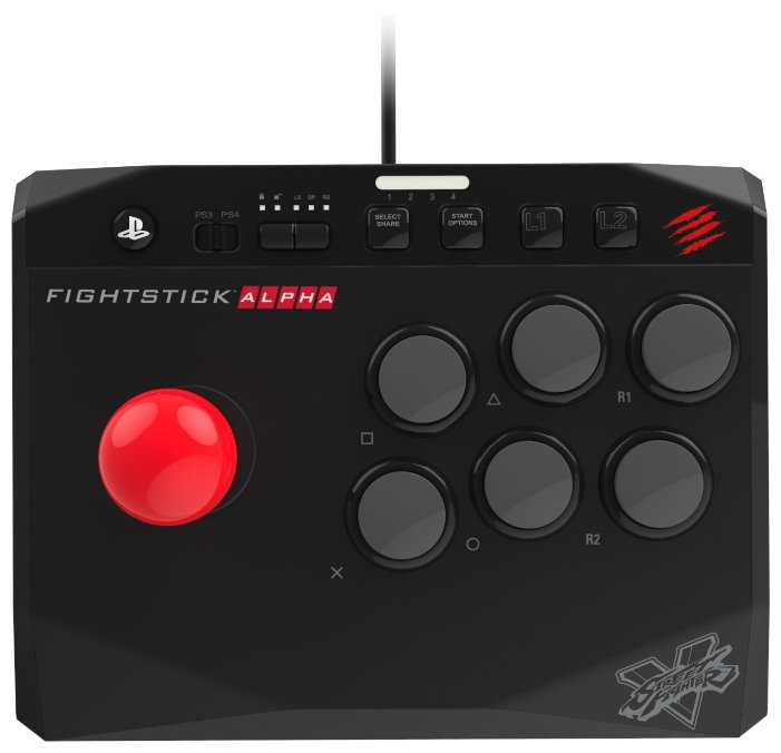 Mad Catz Геймпад Mad Catz Street Fighter V Arcade FightStick Alpha for PS4 & PS3