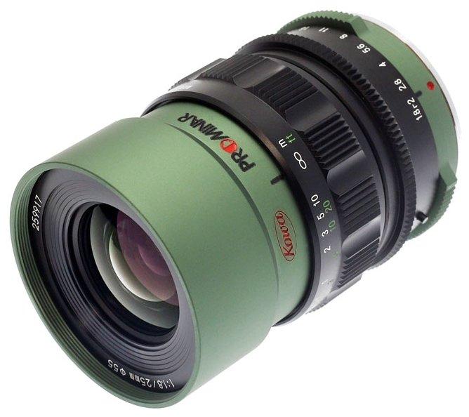 Объектив Kowa Prominar 25mm f/1.8 Micro 4/3