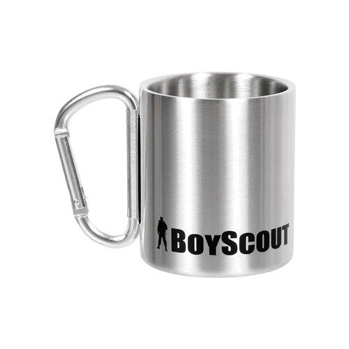Термокружка BOYSCOUT 61112, 0.2 л серебристый