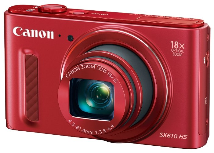 Компактный фотоаппарат Canon PowerShot SX610 HS