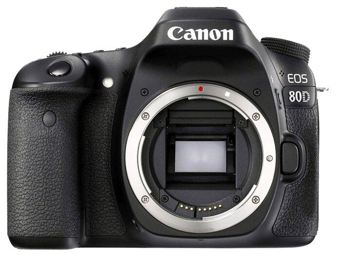 Canon Зеркальный фотоаппарат Canon EOS 80D Body