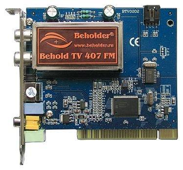 Beholder Behold TV 407 FM