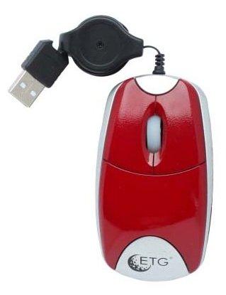 Мышь ETG EM-2080-R-S Red USB