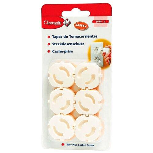 Купить Защита для розеток CL70/1 Clippasafe белый, Аксессуары для безопасности