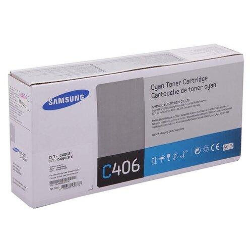 Фото - Картридж Samsung CLT-C406S картридж promega clt c406s совместимый
