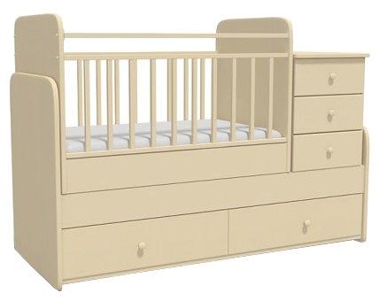 Кроватка Bambu Verona (трансформер)