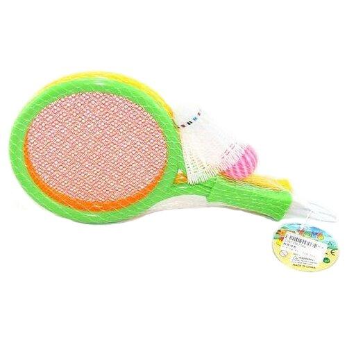 Фото - Набор для игры в бадминтон и теннис Shantou Gepai (769) бадминтон