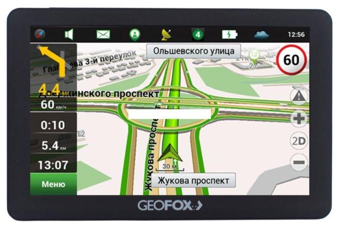 GEOFOX Навигатор GEOFOX MID502GPS