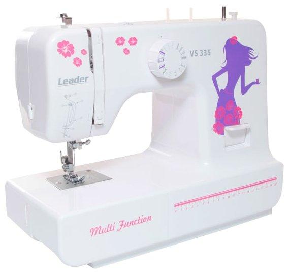 Сравнение с Leader VS 335 швейная машина