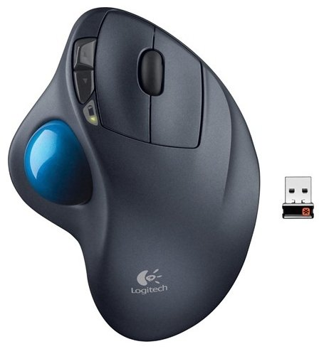 Трекбол Logitech M570 Black USB