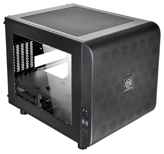 Thermaltake Компьютерный корпус Thermaltake Core V21 CA-1D5-00S1WN-00 Black