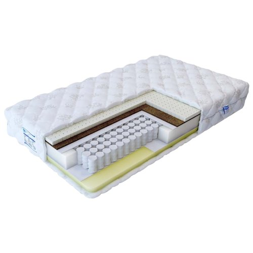 Матрас Промтекс-Ориент Soft мидл-мемори 150x195 пружинный белый матрас промтекс ориент soft мидл мемори 1 150x195 ортопедический пружинный белый