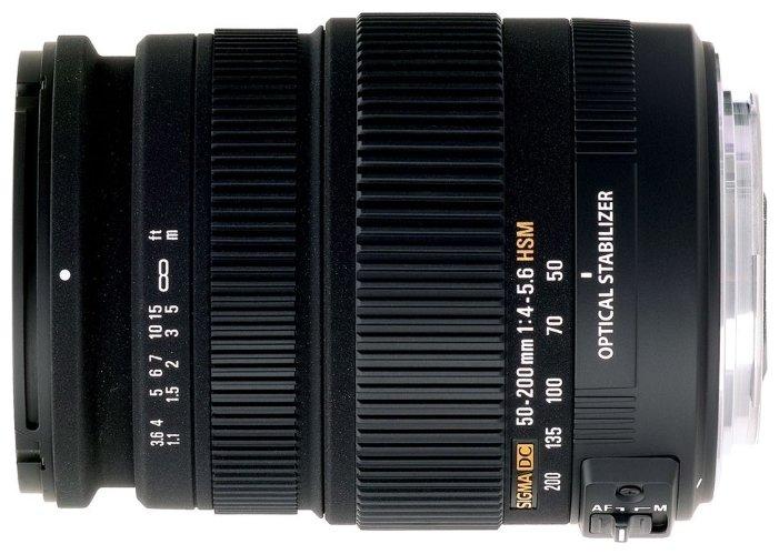 Sigma AF 50-200mm f/4-5.6 DC OS HSM Canon EF-S