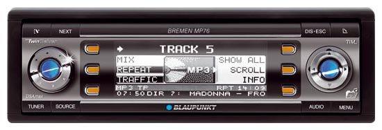 Автомагнитола Blaupunkt Bremen MP76