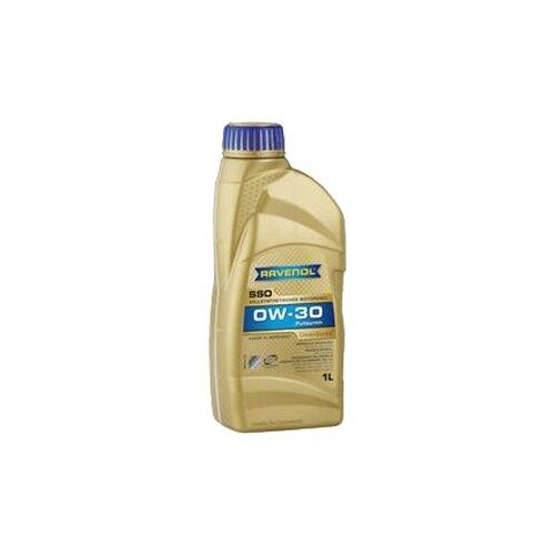 Синтетическое моторное масло Ravenol Super Synthetic SSO SAE 0W-30 1 л моторное масло ravenol super synthetik öl ssl sae 0w 40 5 л