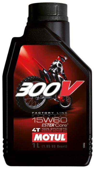 Моторное масло Motul 300V Factory Line Off Road 15W60 1 л