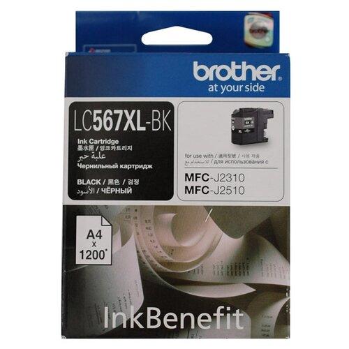 Картридж Brother LC567XLBK картридж струйный brother lc567xlbk