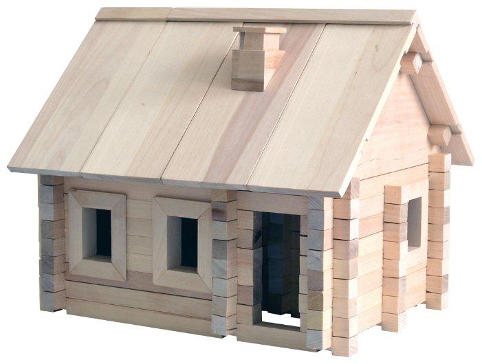 точно купить конструктор дома из бруса использования травы крыше