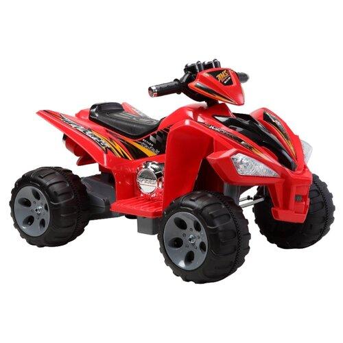 Пламенный мотор Квадроцикл AMS красный электромобиль пламенный мотор квадроцикл биг рейсер ct 650 rd0a