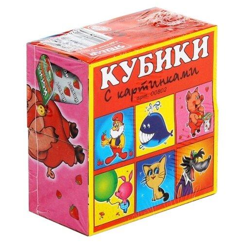 Купить Кубики-пазлы Stellar с картинками 00802, Детские кубики