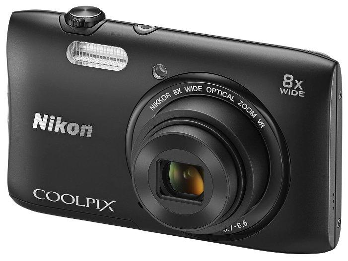 Nikon Компактный фотоаппарат Nikon Coolpix S3600