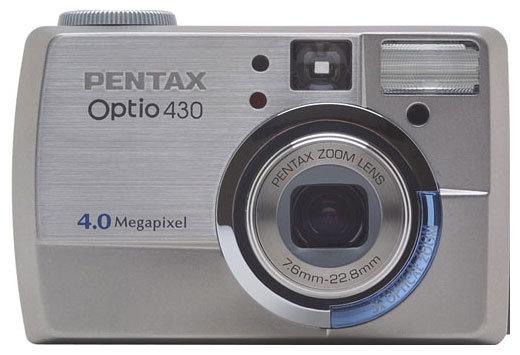 Фотоаппарат Pentax Optio 430