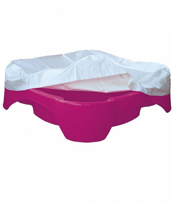 Песочница-бассейн PalPlay (Marian Plast) Квадратная с тентом