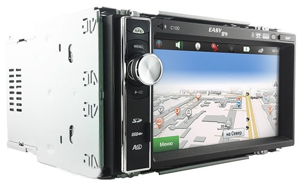 Автомагнитола EasyGo C100 GPS