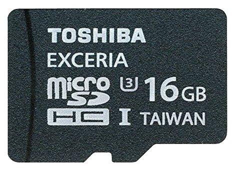 Toshiba SD-CX16UHS1 + SD adapter