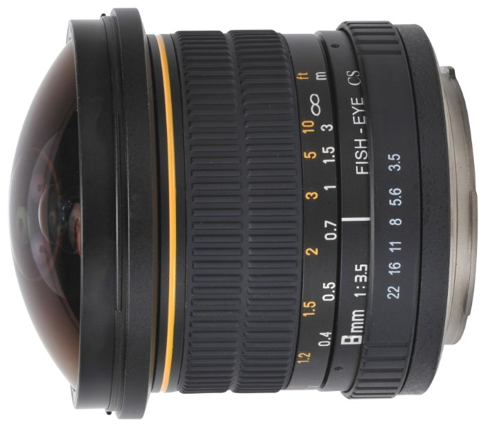 Объектив Oshiro 8mm f/3.5 Nikon F