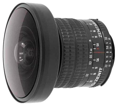 Зенит Объектив Зенит Зенитар-N 8mm f/3.5