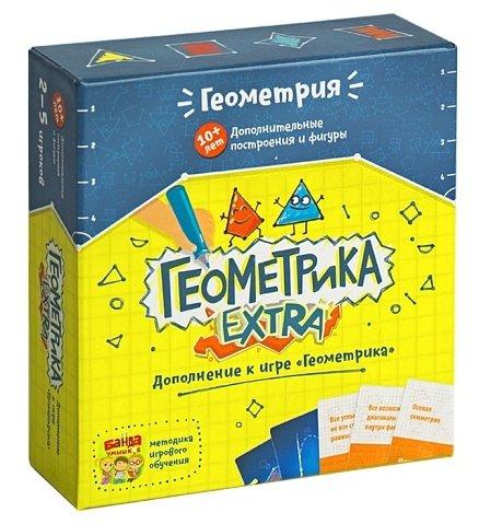 Дополнение для настольной игры Банда умников Геометрика Extra УМ031