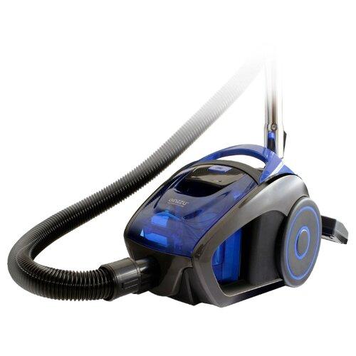 Пылесос Ginzzu VS429 серый/синий
