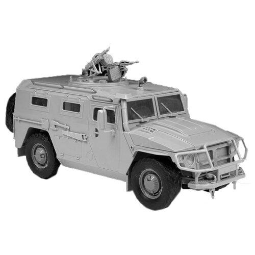 Купить Сборная модель ZVEZDA Российский бронеавтомобиль ГАЗ-233014 Тигр (3668) 1:35, Сборные модели