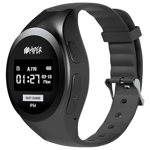 Часы HIPER EasyGuard черныйУмные часы и браслеты<br>