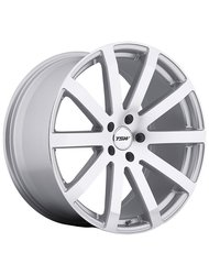 Диск колесный TSW Brooklands 8x19/5x114.3 D76 ET30 Silver mirror cut face - фото 1