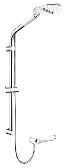 Душевая стойка weltwasser ww dp 10250 душевая стойка с тропическим душем и смесителем купить в москве