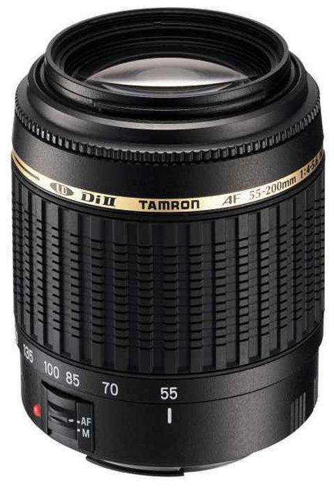 Объектив Tamron AF 55-200mm f/4-5,6 Di II LD MACRO (A15) Canon EF-S