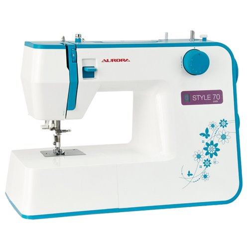 Швейная машина Aurora STYLE 70, бело-голубой