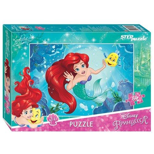 Пазл Step puzzle Disney Русалочка - 2 (81158), 60 дет.Пазлы<br>