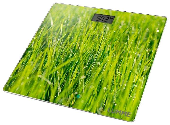 Весы напольные Lumme LU-1329 молодая трава