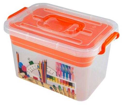 Ящик для игрушек Полимербыт Школа 4380902
