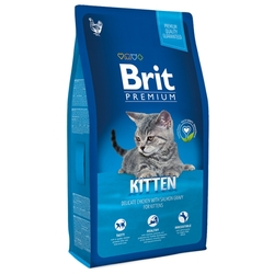 Корм для кошек Brit Premium Chicken Kitten