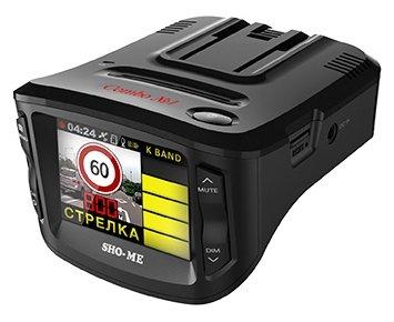 Видеорегистратор с радар-детектором SHO-ME Combo №1